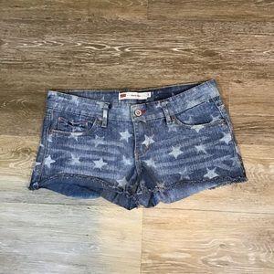 Levi's Shorty Short Shorts with Stars